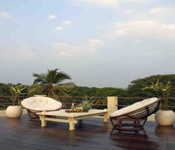 Casa Baga Boutique Hotel Goa on used rattan furniture